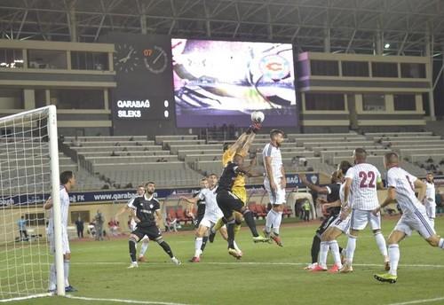 Карабах – Силекс – 4:0. Видео голов и обзор матча