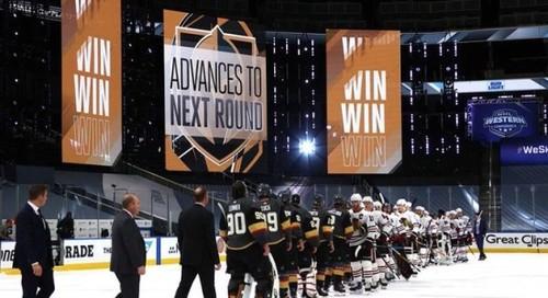 НХЛ. Вегас первым вышел во 2 раунд, победы Вашингтона и Филадельфии