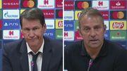 ВИДЕО. Флик и Руди Гарсия после матча Лион - Бавария (0:3)