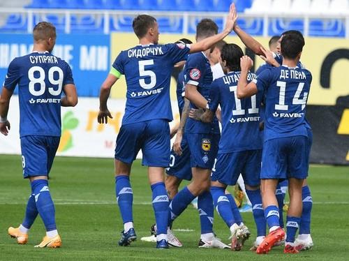 Уверенный официальный дебют Луческу. Динамо разобралось с Олимпиком