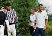 ФОТО. Усик и Шевченко приняли участие в международном турнире по гольфу