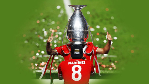 ВИДЕО. Кубок на голове! Защитник Баварии необычно обошелся с трофеем