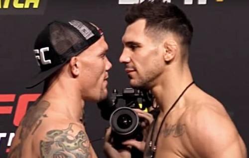UFC: Энтони Смит – Александар Ракич. Смотреть онлайн. LIVE трансляция