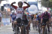 Тур де Франс. Калеб Юэн – победитель третьего этапа