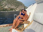 ФОТО. Как невеста Роналду отдыхает с семьей на пляже