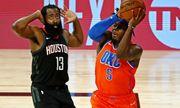 НБА. Оклахома сравняла счет в серии с Хьюстоном. Майами обыграл Милуоки
