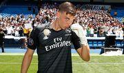 Реал официально подтвердил, что Лунин возвращается в команду Зидана