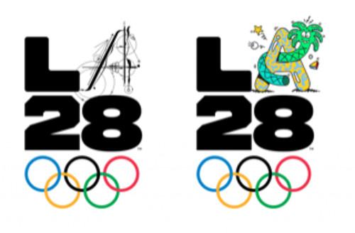 ФОТО. Бесстрашные мечтатели. Представлен логотип ОИ-2028 в Лос-Анджелесе
