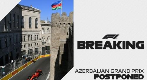 Формула-1 отменила Гран-при Баку. Сезон в июне не начнется