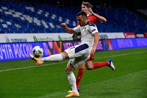 Лига наций B. Россия обыграла Сербию, Венгрия и Уэльс победили в гостях