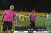 Литва – Казахстан – 0:2. Видео голов и обзор матча