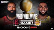 Прогноз и анонс на серию плей-офф НБА Лос-Анджелес Лейкерс – Хьюстон