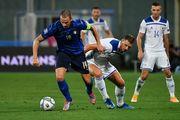 Лига наций. Италия потеряла очки в матче с Боснией и Герцеговиной