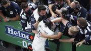 ФОТО. Сенсационный и рекордный подиум Гран-при Италии