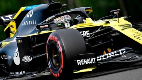 ФОТО. Команда Формулы-1 Рено сменила название и цвета болида