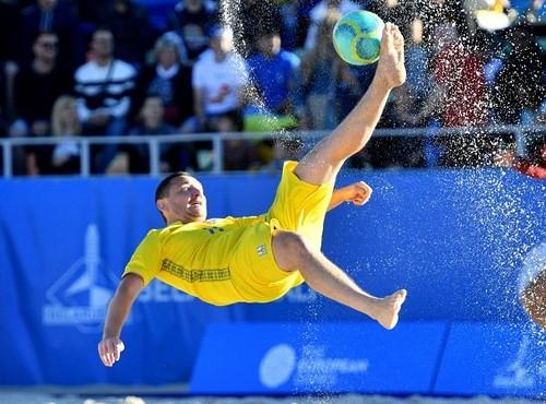 Украина сокрушила Францию и взяла бронзу Евролиги 2020 по пляжному футболу