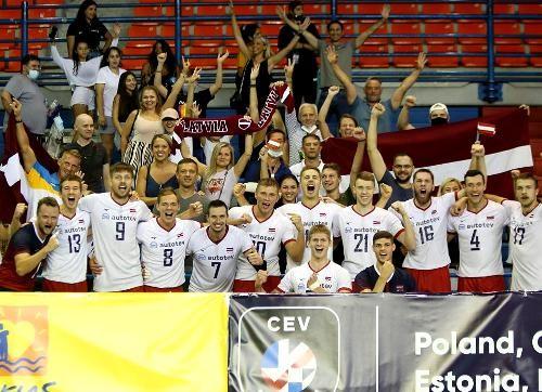 Латвия первой в отборе завоевала путевку на чемпионат Европы 2021