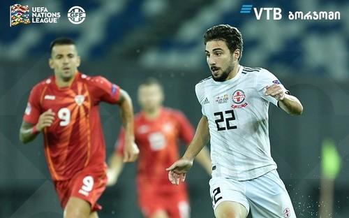 Грузия – Северная Македония – 1:1. Видео голов и обзор матча