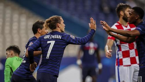 Шесть голов на двоих. Франция переиграла Хорватию как в финале ЧМ-2018