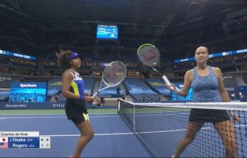 Осака с комфортным перевесом вышла в полуфинал US Open