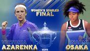 ВИДЕО. Как Осака и Азаренко выходили в финал US Open
