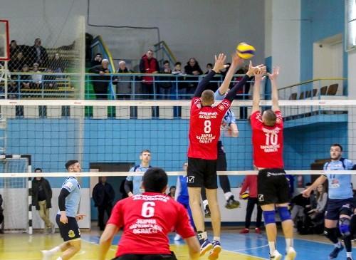 Завершился первый этап мужского Кубка Украины