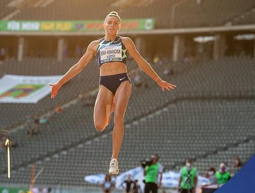 Лучший прыжок в сезоне. Бех-Романчук выиграла соревнования в Берлине