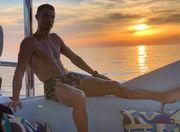ФОТО. Криштиану Роналду отдыхает на борту своей яхты