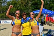Украинские волейболистки завоевали бронзу на чемпионате Европы U-20