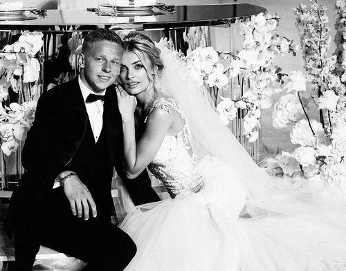 ФОТО. Влада Зинченко показала новые снимки со свадьбы