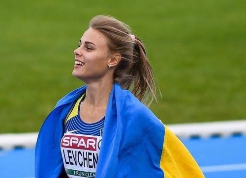 Юлія Левченко виграла змагання зі стрибків у висоту в Загребі