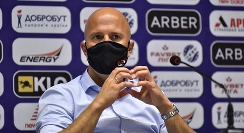 Арне СЛОТ: «Против нас Динамо сыграло довольно сильно»