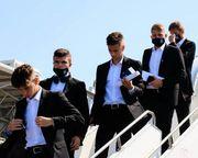 ФОТО. Стильный Колос. Украинская команда прилетела в Грецию