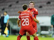 Вынули три мяча. Гроза украинских клубов Янг Бойз разгромлен в Дании