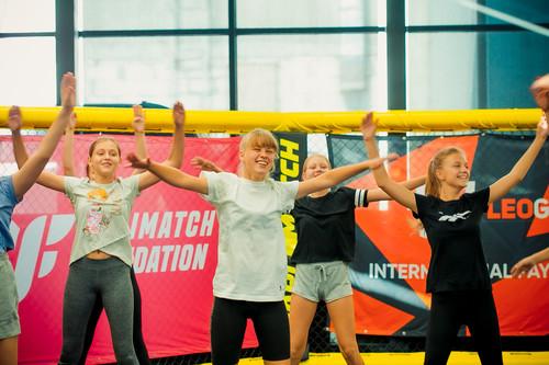 PM Fight Academy провели детскую тренировку по женской самозащите