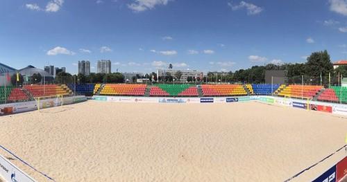 Все соревнования по пляжному футболу отменены до 1 июня