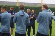 Динамо под руководством Луческу работает над взаимодействиями и тактикой