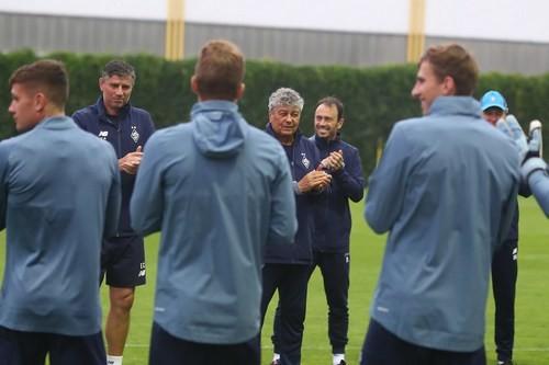 Динамо під керівництвом Луческу працює над взаємодіями і тактикою