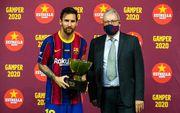 ВИДЕО. Барселона выиграла Кубок Гампера. Месси получил трофей