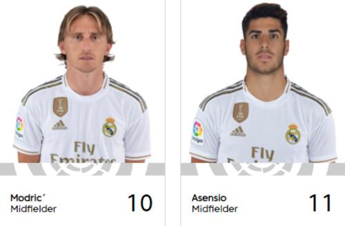 Асенсио взял номер 11 в Реале, который принадлежал Бэйлу
