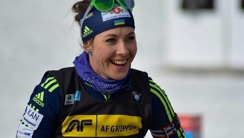 Біатлоністці Юлії Джимі виповнилося 30 років