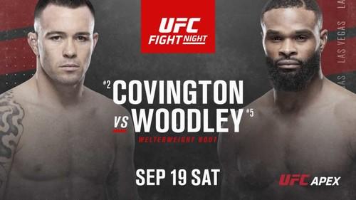 Где смотреть онлайн бой UFC: Колби Ковингтон – Тайрон Вудли