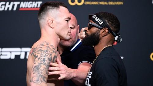 UFC: Колби Ковингтон – Тайрон Вудли. Смотреть онлайн. LIVE трансляция