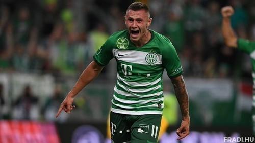 Зубков забив перший гол в сезоні за Ференцварош