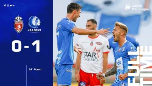 Гент перед матчем з Динамо виграв, Яремчук не забив пенальті