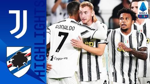 Ювентус – Сампдория – 3:0. Видео голов и обзор матча