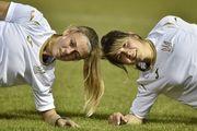 ВИДЕО. Женская сборная Украины провела тренировку на Оболонь-Арене