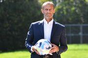 ФОТО. Представлен официальный мяч Суперкубка УЕФА