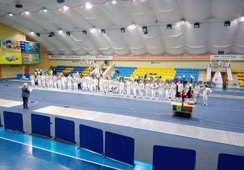 Елена Воронина и Андрей Ягодка выиграли Кубок Украины по фехтованию
