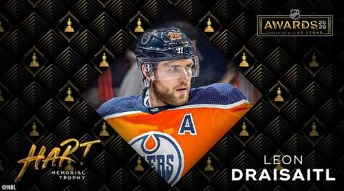 НХЛ назвала лучшего игрока, вратаря, защитника и новичка сезона